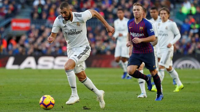 El Clasico Pertandingan Antara Barcelona Dan Real Madrid Yang Hambar 2019