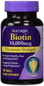 Biotin, a hair & nail growth supplement from Amazon.com