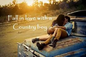 Quotes About Life And Happiness Tumblr: fall in love with a country boy