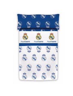 Juego de sábanas invierno Estadio Manterol. Colección Real Madrid Classic