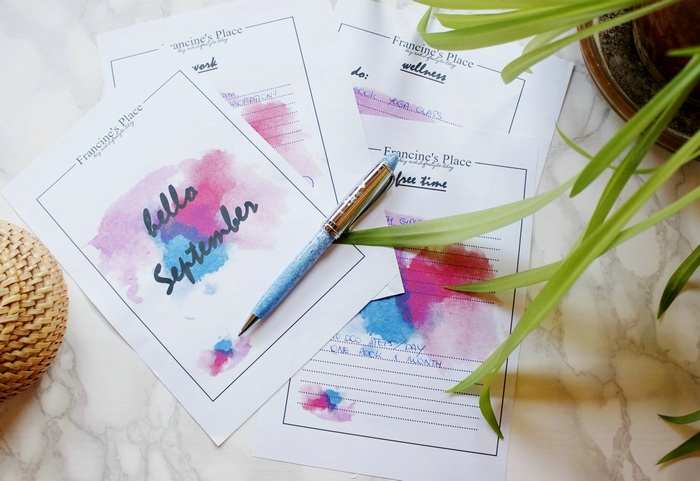 hello september diy printable list
