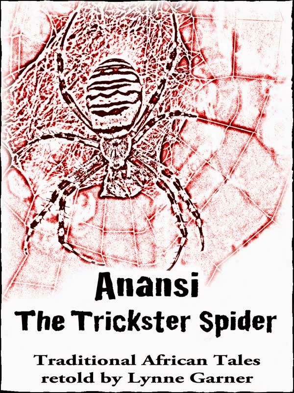 http://www.amazon.co.uk/Anansi-Trickster-Spider-Lynne-Garner-ebook/dp/B00629VR7S/