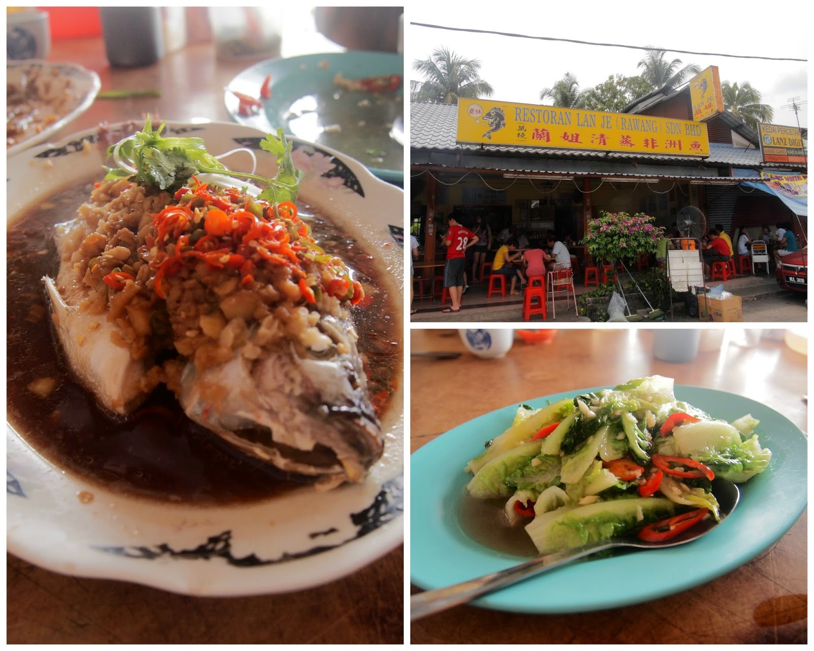 Lan Jie Steamed Fish Rawang