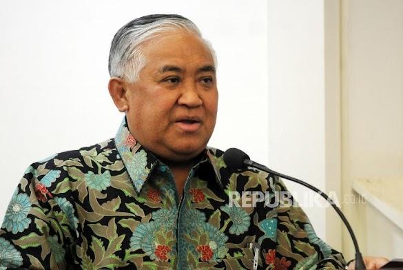 Din Syamsuddin Minta Umat Jangan Percaya Masjid Radikal