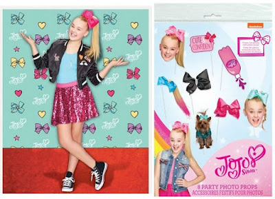 JoJo Siwa party supplies-birthday picture backdrop for a fun activity