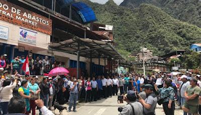 Machu Picchu Strikes, Bus Strike Machu Picchu