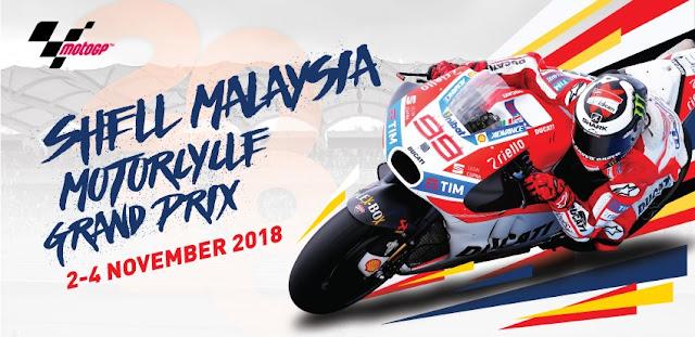 Salika Travel - 2018 Malaysian MotoGP