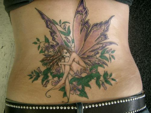 Best Lower Back Tattoos: Fairies Tattoos