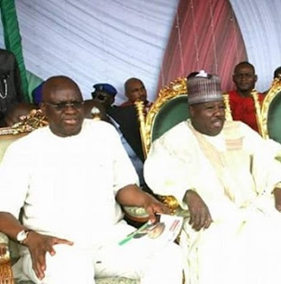 Fayose and Ali mOdu Sheriff