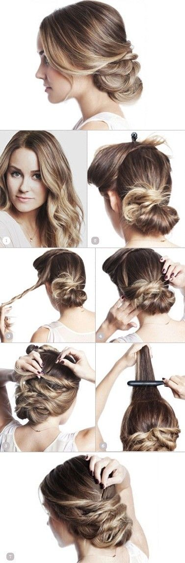 5 Trendy Low Bun Updo Hairstyles Tutorials}