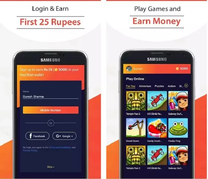 Roz Dhan - Earn Money, Read News & Play Games
