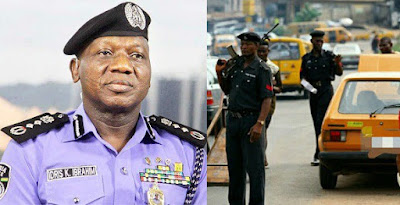 """Any officer who wants to search a citizen must first be searched first""""- Nigerian police."""