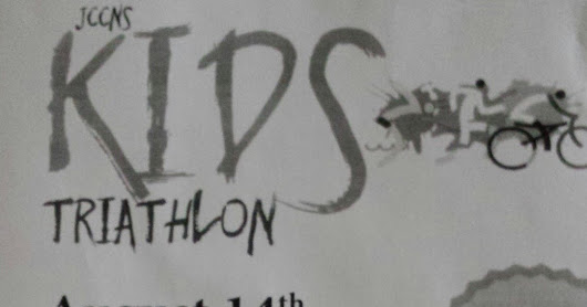 Kid's Triathlon info 8/14/16