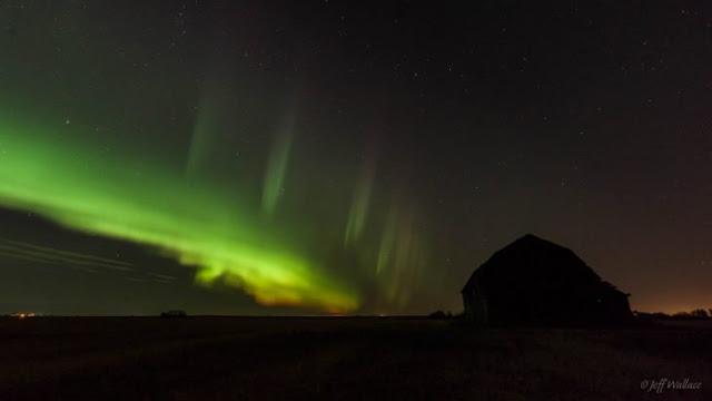 'Steve', el fenómeno de los cielos en Canadá que parece haber salido de otro mundo