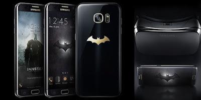 Lihat Kerennya Samsung Galaxy S7 Edge Edisi Batman