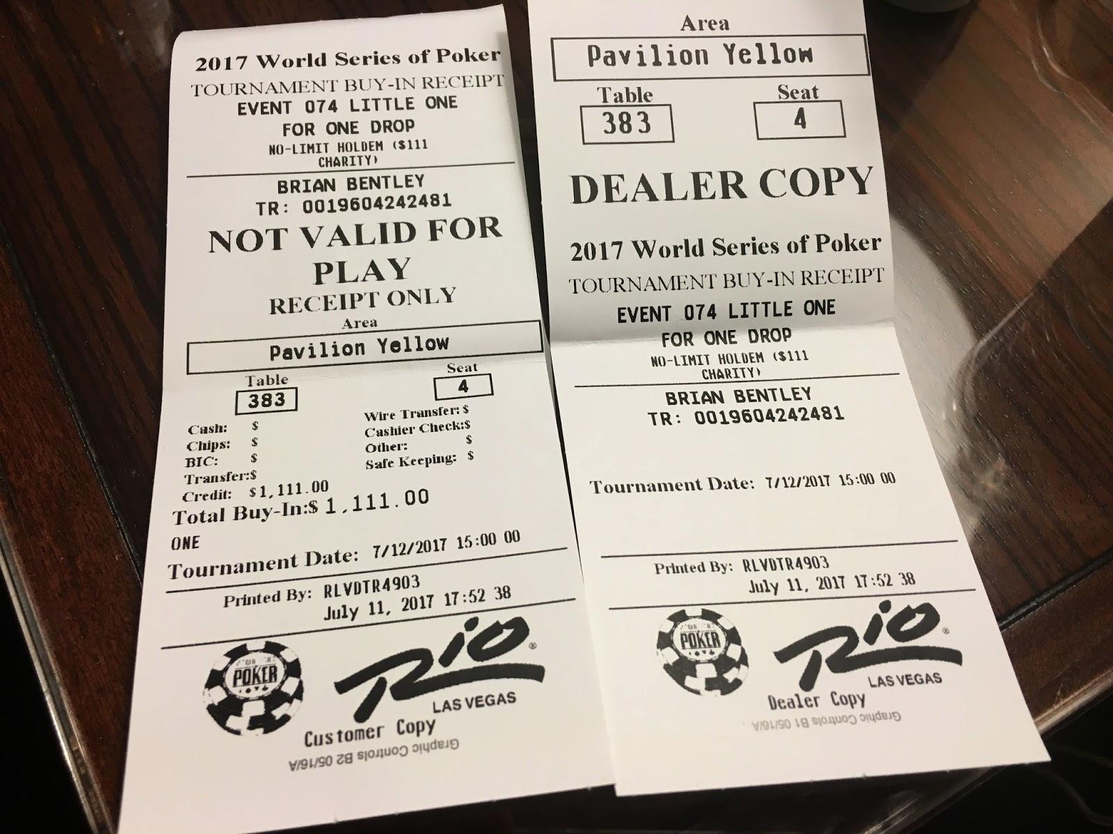 Wsop Tickets