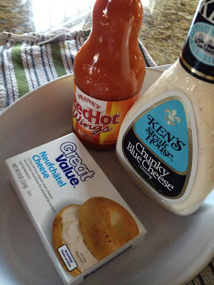 how to make buffalo wing dip