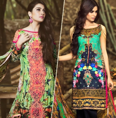 c99f2218f Zahra Ahmad Summer Collection 2016-2017