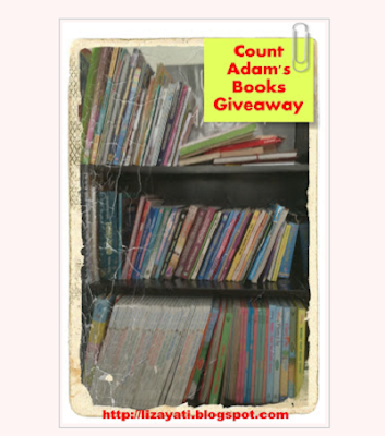 Count Adam's Books Giveaway