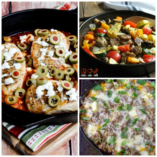 Low-Carb Recipe Love: Ten Low-Carb Skillet Meals