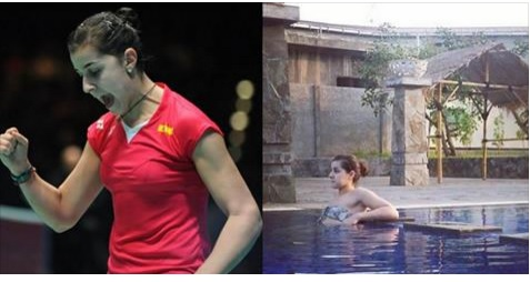 Rio Olympics Badminton Gold Medalist Carolina Marin Hot in Bikini