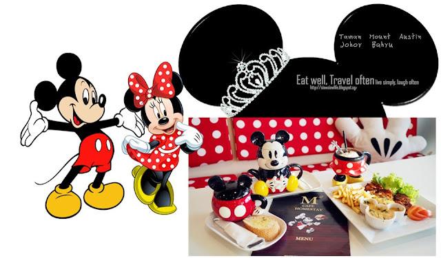 柔佛 | M2 Cafe #米奇老鼠主題餐廳