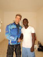 Moustapha, il tecnico della fabbrica di acqua minerale di Benichab