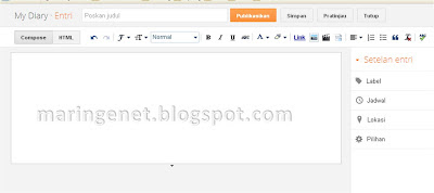 Tampilan Lama Blogger, New look blogger