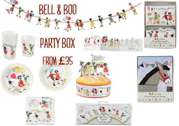 Mrs Fox's party Boxes, Belle & Boo