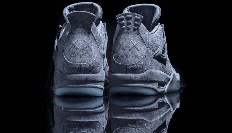 28337a44af3142 A Closer Look at KAWS x Air Jordan 4