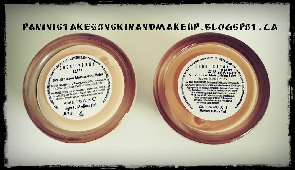 Panini S Takes On Skin Care Make Up Bobbi Brown Extra Tinted Moisturizing Balm With Spf 25 Demo Video