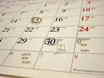 Rencana akhir tahun