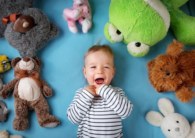 peluche interactive et développement de l'enfant