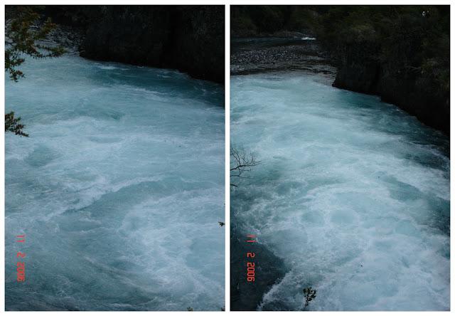 Cruce Andino - de Puerto Varas até Peulla - saltos do rio Petrohué