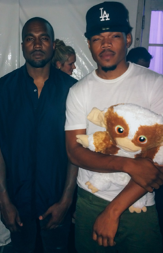 Kanye West culpa o Chance The Rapper pelo atraso do álbum 'The Life Of Pablo'
