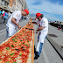 Rekor Pizza Terpanjang di Dunia Dipecahkan di Italia, Panjang 1,8 Kilometer