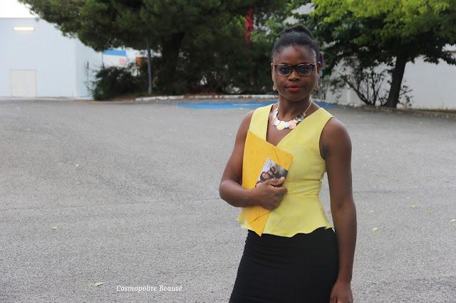 working girl, jupe crayon, top peplum, femme d'affaires, être femme