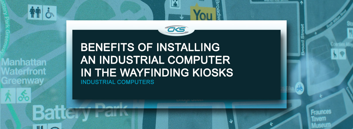 Mounting Rugged Industrial Computers Into Wayfinding Kiosks