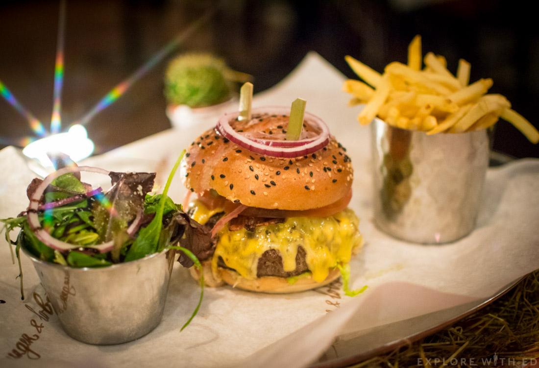 Steak burger, Burger and Lobster Cardiff