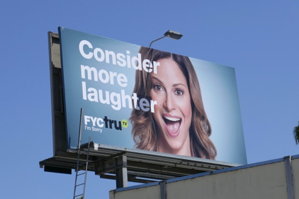 Im Sorry Consider more laughter 2018 Emmy FYC billboard