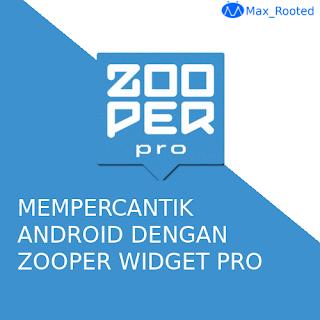 Mempercantik Tampilan Android dengan Zooper Widget Pro Apk