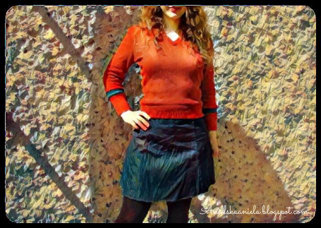 sweter,sweterek,zwężanie,zmniejszanie,sewing,,thrifted transformations,refashion,blog,ciuchy,ubrania,