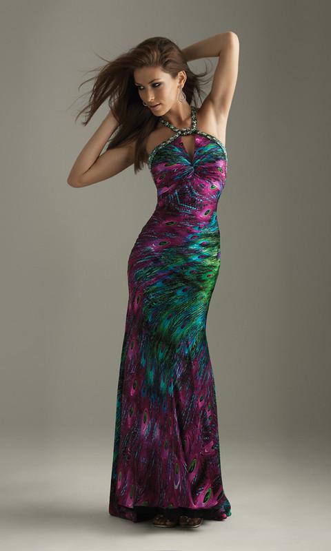 Peacock Feather Wedding Dresses Designs | Wedding dresses ...