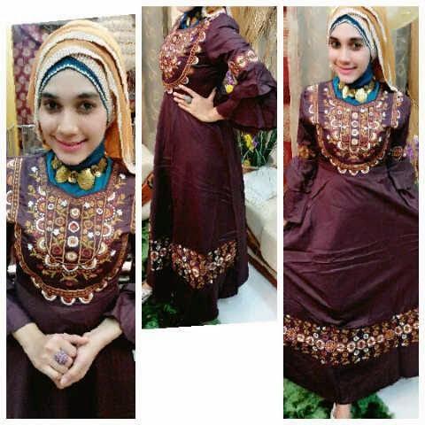 Model Baju Gamis Muslim Simpel Dan Unik Terbaru Baju Gamis Muslim