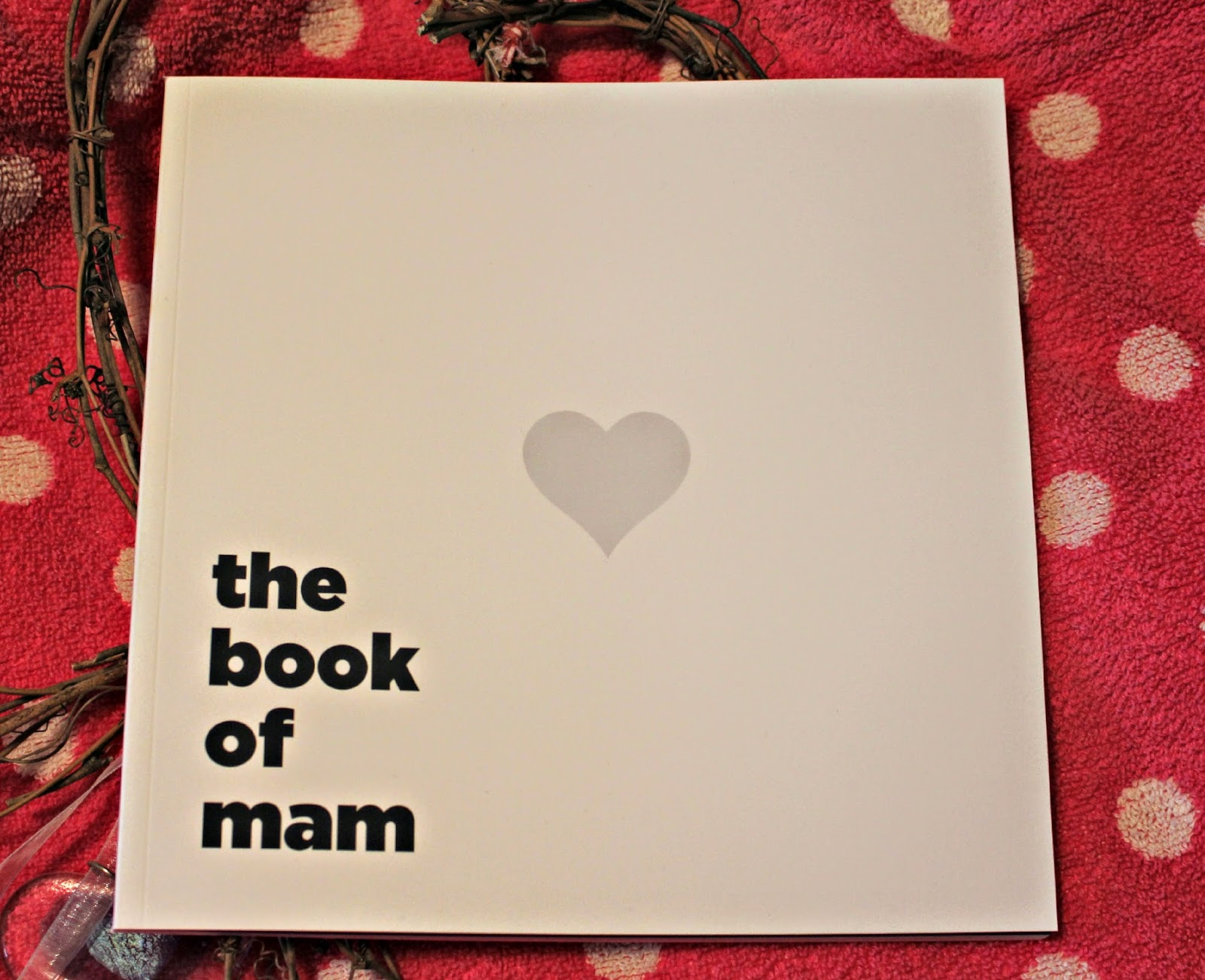 Personalised Mother's Day gift ideas:  The Book of Mum