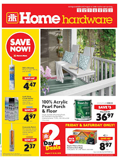 Home Hardware Weekly Flyer Circualire August 16 - 22, 2018