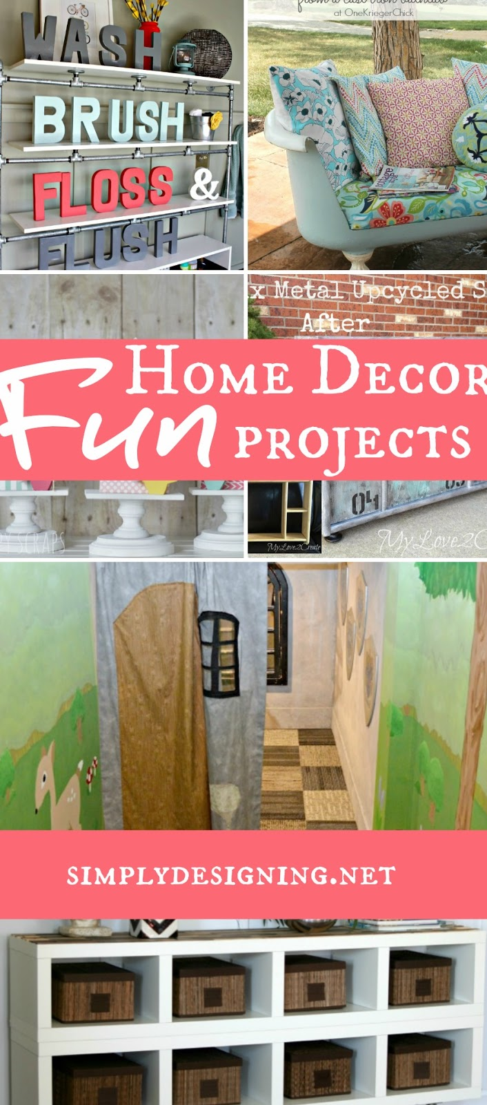 Fun Home Decor Projects | #homedecor #diy #crafts #home