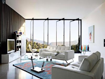 desain ruang tamu mewah