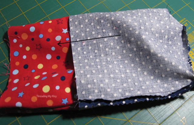 Threading My Way: Drawstring Gift Bag Tutorial