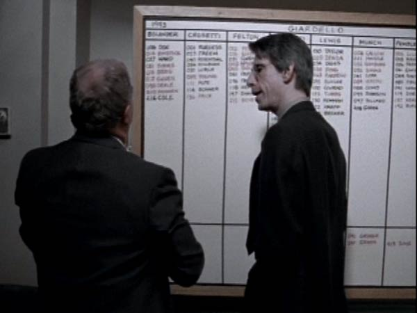 Ned Beatty and Richard Belzer in Homicide: Life on the Street